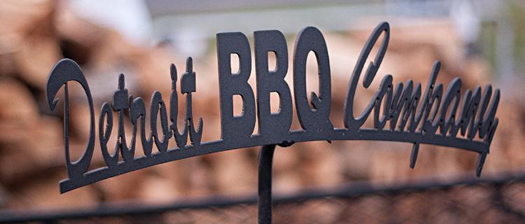 Detroit BBQ Iron Logo